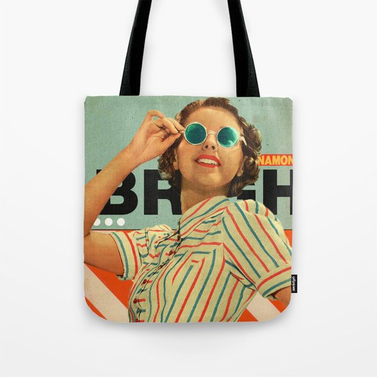 Bright Cinnamon Tote Bag