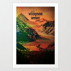 Wilderness Seeker Art Print