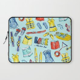 Lake time Laptop Sleeve