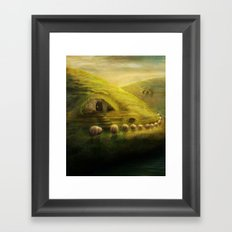 Heading Home Framed Art Print