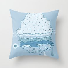 Iceburger Throw Pillow