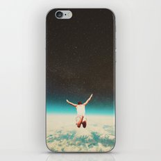 Falling with a hidden smile iPhone & iPod Skin