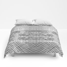 Sexy Lacy Gray Comforters