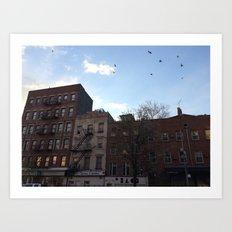 East Village Art Print