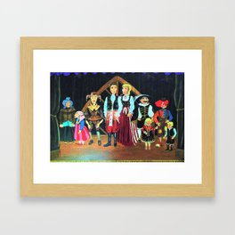 """Marionettes of Prague"" Framed Art Print"