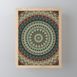 Mandala 585 Framed Mini Art Print