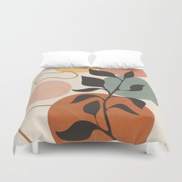 Abstract Minimal Shapes 23 Duvet Cover