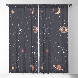 Mystical Galaxy Blackout Curtain