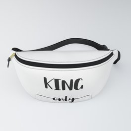 KING ONLY Fanny Pack