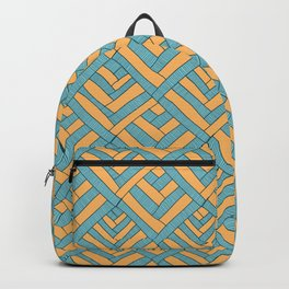 Geometric pattern Modern Backpack