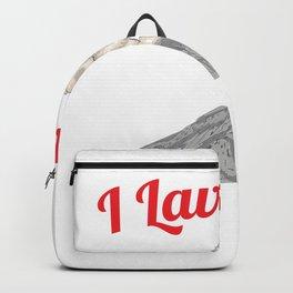I Lava You - Funny Volcano Backpack