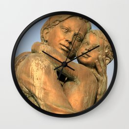 Skopje X Wall Clock
