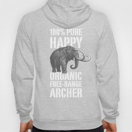 100% PURE HAPPY ORGANIC FREE-RANGE ARCHER Hoody
