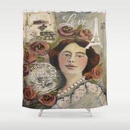 Roseline Shower Curtain