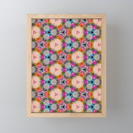 Flower Parade Framed Mini Art Print