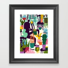 Natural Recall poster design Framed Art Print