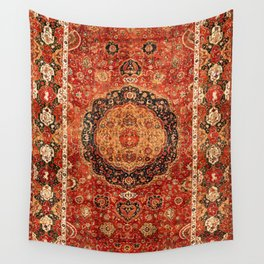 Seley 16th Century Antique Persian Carpet Print Wall Tapestry