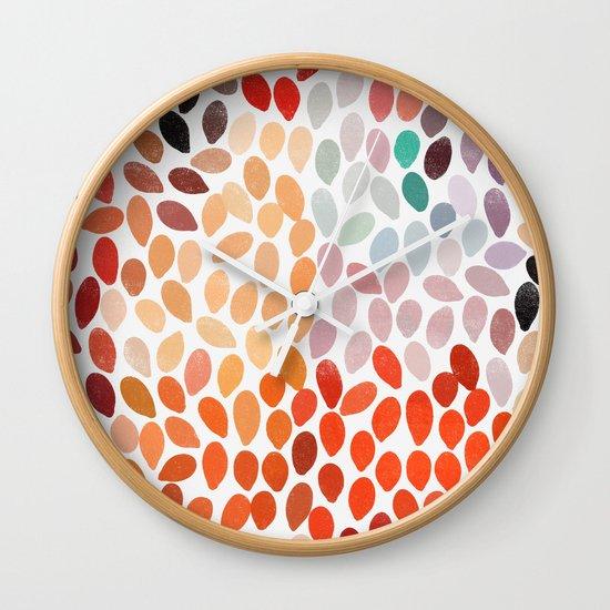 rain 4 Wall Clock
