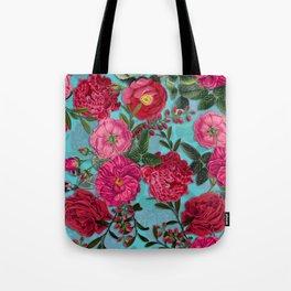 Vintage & Shabby Chic - Summer Tropical Garden I Tote Bag