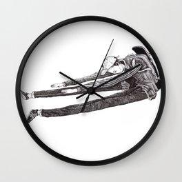 stretch or DIE Wall Clock
