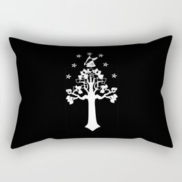 The White Tree With The Crown Rectangular Pillow