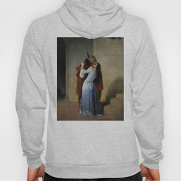 The Kiss (Il Bacio) - Francesco Hayez 1859 Hoody