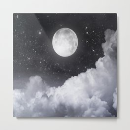 Touch of the moon II Metal Print