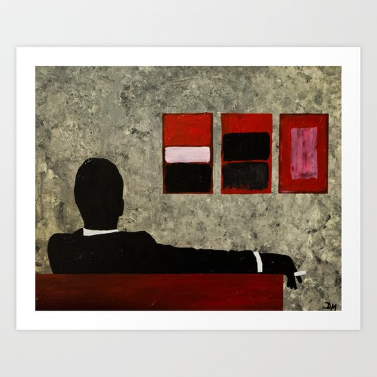 Mad Men - Art Print  Art Print