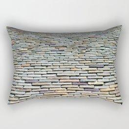 Roof Tiles Rectangular Pillow