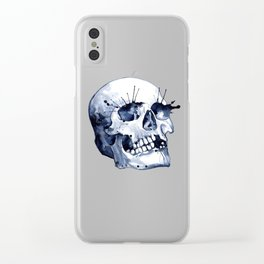 Skull Clear iPhone Case