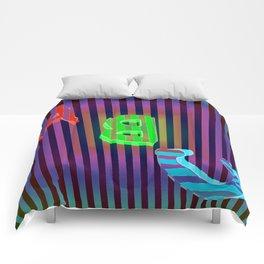 ABC dark Comforters