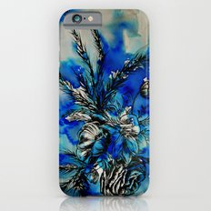 Blue Flowers iPhone 6s Slim Case