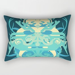 Abstraction Twenty-Nine Neptune Rectangular Pillow