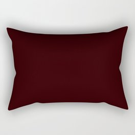 Delirious Place ~ Dark Red-brown Rectangular Pillow