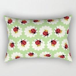 Ladybugs pattern Rectangular Pillow