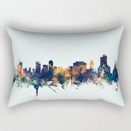 Tulsa Oklahoma Skyline Rectangular Pillow