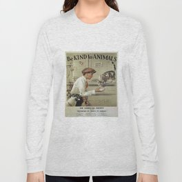 Be Kind To Animals 1 Long Sleeve T-shirt