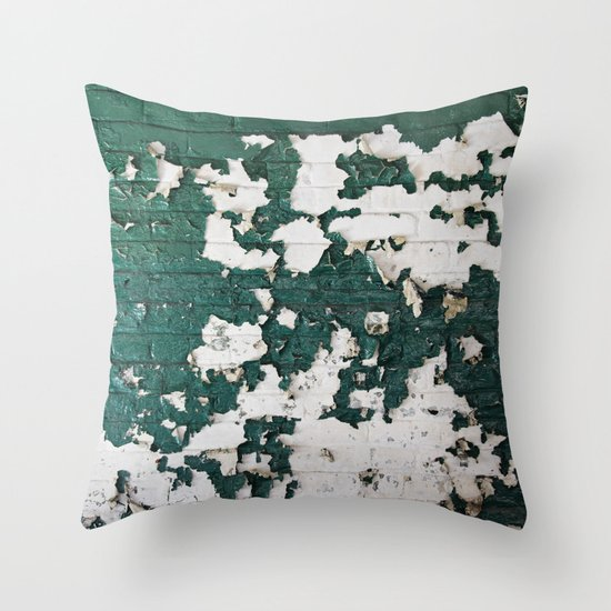 In Green Throw Pillow