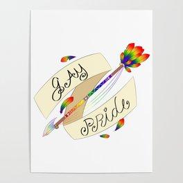 Gay Pride Arrow Poster