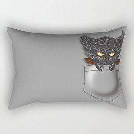 Dragon Pocket Tee Rectangular Pillow