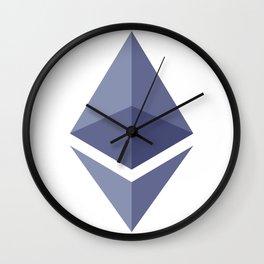 Ethereum Logo Wall Clock