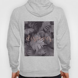 Rose gold discover - sepia fern Hoody