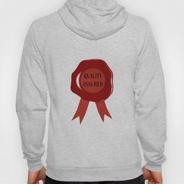 Wax Stamp Quality Assured Hoody