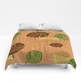 Tiki Bar Wallpaper Pattern Comforters