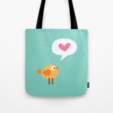 Love Birdie Tote Bag