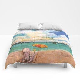 Seven Mile Bridge Comforters