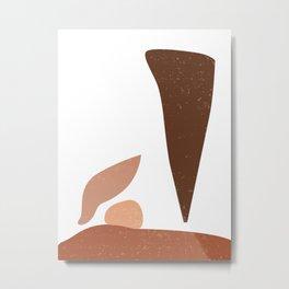 A Balancing Act 05 - Minimal Abstract Metal Print