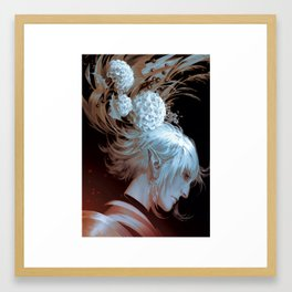 Haucherfant, Confidence in Heaven Framed Art Print