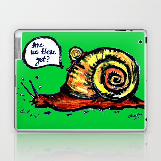 Are We There Yet? Laptop & iPad Skin