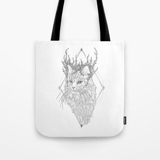 Thranduil Cat Tote Bag